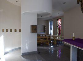 Altare e tabernacolo della Cappella